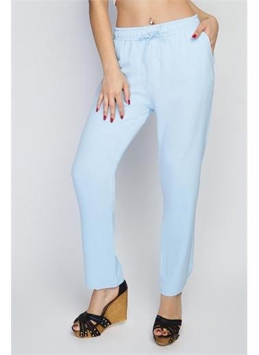 Rodi Jeans Kadın Angel Airobinli Jogger Pantolon Rd21Yb012014 Mavi